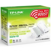 Tp Link Tl Wpa4220kıt 300mbps Av500 Wifi Powerline...