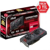 Asus Ex Rx570 O4g Gamıng Gddr5 256bit