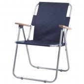 Katlanır Kamp Sandalyesi Piknik Sandalyesi Lacivert