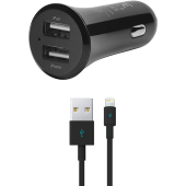Ttec Quantum Duo Mfi Araç Şarj Aleti 1a 2.4a Çift Çıkış (Apple Li