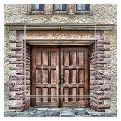Dekoratif Baskılı Elektrik Düğmesi Priz Kapı Zili Tarihi Kapı