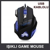Pg 899 Usb X7 Iş �ıklı Game Mouse