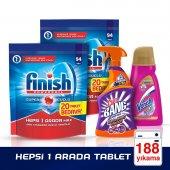 Finish Hepsi 1 Arada Tablet 94 X 2 Yıkama Cillit Bang Banyo Ve