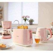 Philips Kahvaltı Seti Daily Collection 3ü 1 Arada Pembe (Hd2584