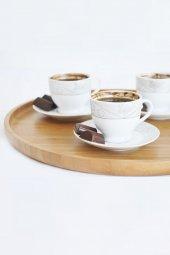 Cappuccino Daire Tepsi