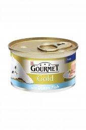 Gourmet Gold Ton Balıklı Kedi Konserve Mama 24x85gr