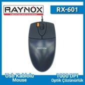 Raynox Rx 601 Usb Optik Mouse Çift Click A4 Tech Muadili