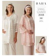 Baha 3322 Bayan 3lü 3322 Sabahlıklı Lohusa Pijama Takımı