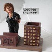 Bayan Avukat Masa Seti Kalemlik Kartvizitlik