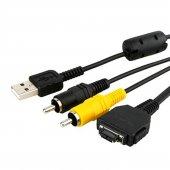 Sony Dsc T200, Dsc T300, Dsc H10, Dsc H50 Usb Data Şarj Av Görünt