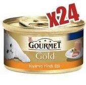 Proplan Gourmet Gold Hindi Etli Kıyılmış Konserve Kedi Maması 85