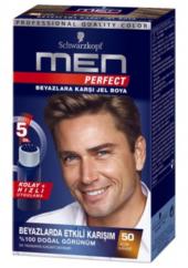 Schwarzkopf Men Perfect Erkek Saç Boyası 50 Açık Kahve
