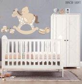 Dekorloft Ayıcık Ve Sallanan At Çocuk Odası Duvar Sticker Cs 217