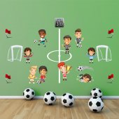 Dekorloft Futbol Çocuk Odası Duvar Sticker Cs 274