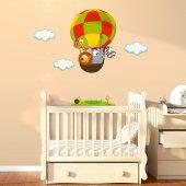 Dekorloft Uçan Balon Çocuk Odası Sticker Cs 518