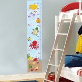 Dekorloft Renkli Okyanus Boy Ölçer Sticker Dbc25