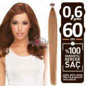 1. Kalite Karamel Tonlarda Gerçek Saç