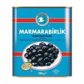 Marmarabirlik Doğal Salamura Siyah M 261 290 Zeytin 10 Kg