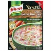 Knorr Yöresel Erişteli Sebzeli Mısır Unu Çorbası
