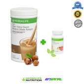 Herbalife Shake Çikolatalı Ve Bitkisel Konsantre Çay Şeftali 50gr