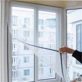 Ayarlanabilir Pencere Sinekliği 130 X 150 Cm Tül