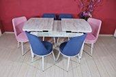Stoker Premıum Yemek Masa Takımı 6 Sandalyeli Kombinasyon Stk1459