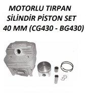 Motorlu Tırpan Silindir Piston Çin Tırpan Uyumulu 40mm (42cc)