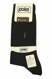 Pola P 613 Kurşunlu Erkek Compact Penye Soket Çorap