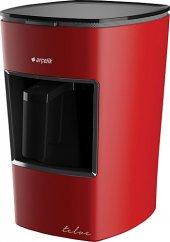 Arçelik K 3300 Kırmızı Mini Telve Türk Kahve Makinası