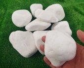 Dolomit Taş 2 Kg 6 10 Cm Beyaz Süs Taşı Dekor Taşı Doğal Taş Bahçe Taşı Dolamit Taşı Dere Taşı Çakıl Taşı Dekorasyon Taşı