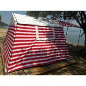 Tek Odalı Pamuklu Kamp Çadırı 4 5 Kişilik
