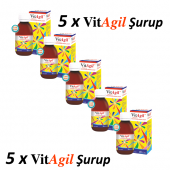 Vitagil 250 Ml. Multivitamin Multimineral Şurup 5 Adet