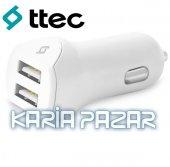 Ttec Speedcharger Duo Micro Usb Araç Şarj Aleti Çift Usb 3.1a