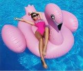 Pembe Flamingo Deniz Yatağı 195x200x120