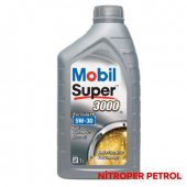 Mobıl Super 3000 Fe 5w 30 1 Lt Benzinli Dizel Motor Yağı