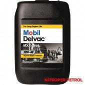Mobıl Delvac Mx Extra 20 Lt Ağır Vasıta Dizel Motor Yağı