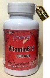 Meka Nutrition Vitamin B12 120 Tablet 1000 Mcg