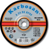 Karbosan. 4 Adet Fiyatına,180 X 8 X 4 Metal Taşlama Diski
