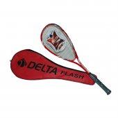 Delta Flash 27 İnç Çantalı Kırmızı Squash Raketi