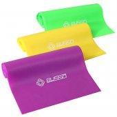 Busso 3 Lü Hafif Orta Sert Direnç Seviyeli Pilates Bandı Seti Tpr 65