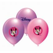 Minnie Baskılı Balon 10lu