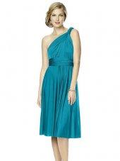 Mite Love Farklı Modellere Dönüşebilen Elbise Turkuaz