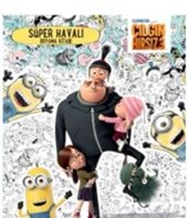 çılgın Hırsız 3 Süper Havalı Boyama Kitabı