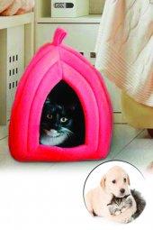 Pet Hut Polar Kedi Ve Köpek Yatağı Kırmızı