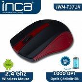 ınca Iwm T371k Kablosuz Kırmızı Mouse