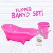 Flipper 4lü Küvet Seti Küvet Kova Maşrapa File