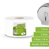 Senta Jumbo Tuvalet Kağıdı 5 Kg 12 Rulo