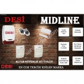 Desi Alarm Desi Midline Plus + 1 Adet Sensor Alarm...