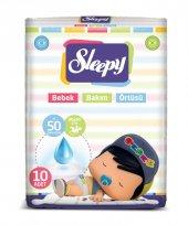 Sleepy Bebek Bakım Örtüsü Pepee 10 Adet