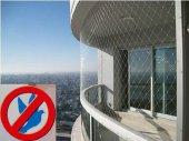 Balkon Filesi Kuş Ağı 10x1 Metre Balkon Ağı Güvercin Filesi Kuş Önleme Filesi Güvercin Önleme Filesi